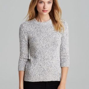 VGUC Theory Marled Gray Rainer M Terry Sweater PS